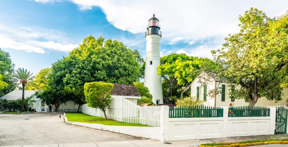 The Key West lighthouse is tiny yet impressive with its history.