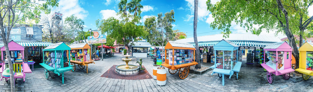 Mallory Square features vibrant shops, stands, cafes and more to stroll through. It is perfect for Key West in December!