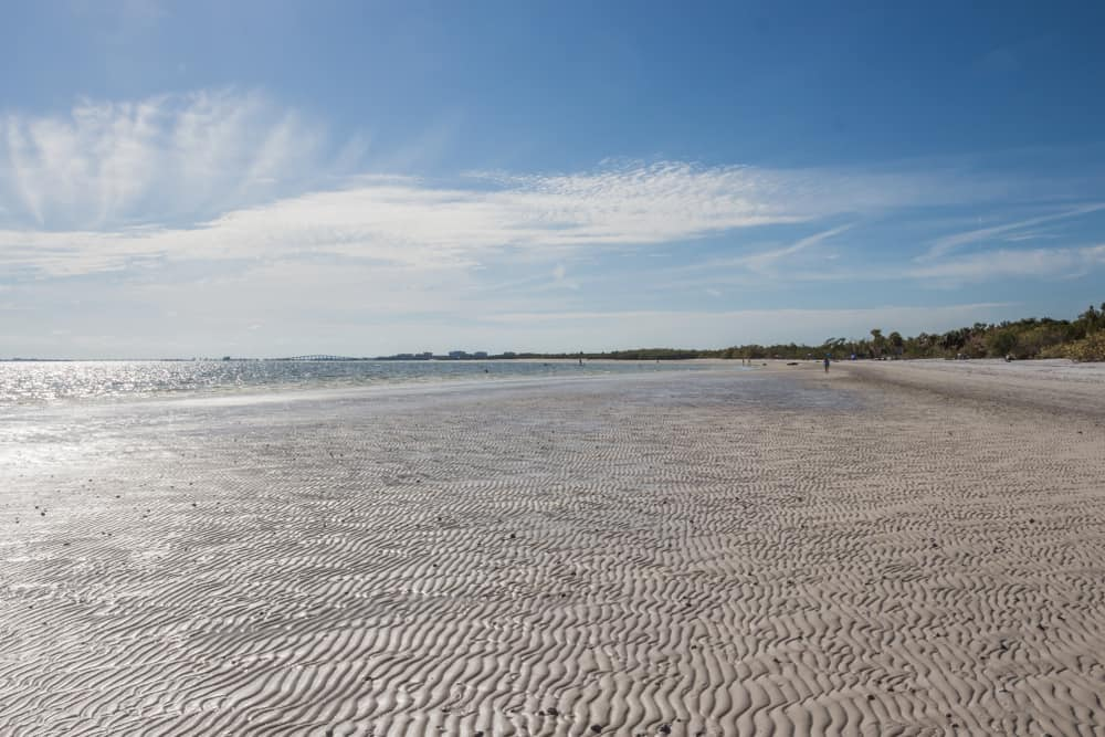 Photo of Bunche Beach, one of the best beaches in Fort Myers to beat the crowds